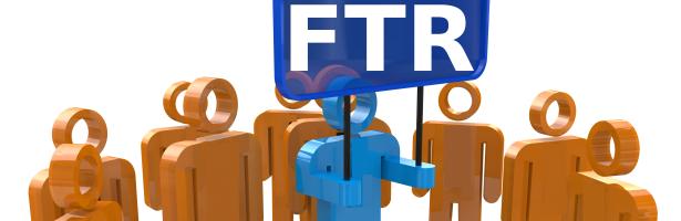 Mennesker med FTR skilt