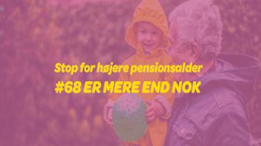 11. september: Demonstration mod stigende pensionsalder