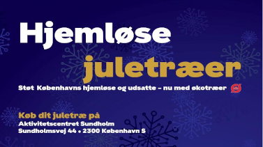 Hjemløse juletræer - støt Københavns hjemløse og udsatte