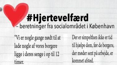 #Hjertevelfærd - beretninger fra socialområdet i København